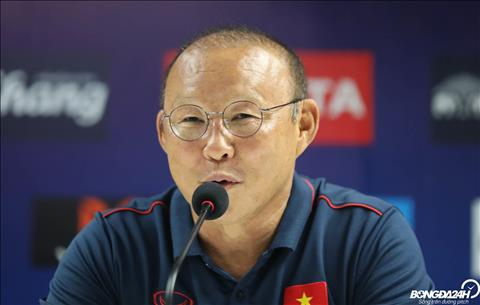 HLV Park Hang Seo Các cầu thủ Việt Nam không phải ngại Thái Lan hình ảnh