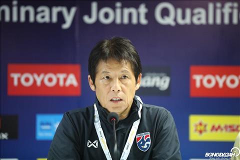 HLV Akira Nishino nói gì trong họp báo Thái Lan vs Việt Nam hình ảnh