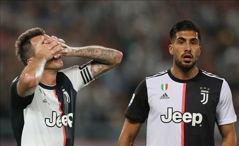 Can và Mandzukic bị loại khỏi đội hình Juventus dự Champions League hình ảnh