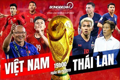 Lịch thi đấu bóng đá Việt Nam vs Thái Lan ngày hôm nay (5/9)