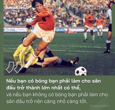 Vĩ nhân Johan Cruyff và những câu nói làm thay đổi bóng đá hình ảnh