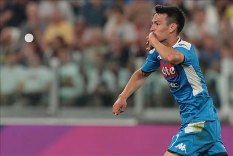 Tiền vệ Hirving Lozano được Ronaldo gửi lời khen ngợi hình ảnh