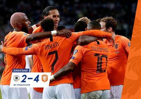 Trực tiếp Đức vs Hà Lan bảng C vòng loại Euro 2020 đêm hôm nay hình ảnh
