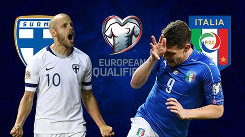 Trực tiếp Phần Lan vs Italia vòng loại Euro 2020 đêm hôm nay 89 hình ảnh