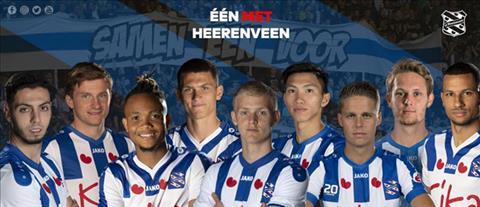 Van Hau tren trang chu CLB Heerenveen.