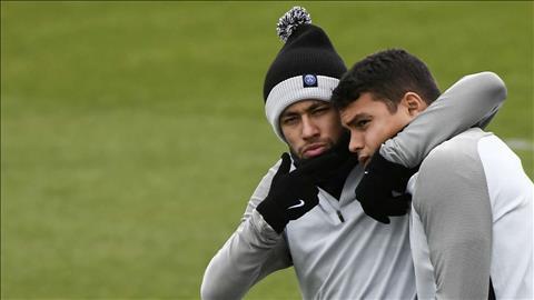 Thiago Silva Ơn trời, Neymar ở lại PSG rồi! hình ảnh