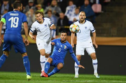 Phần Lan 1-2 Italia Vất vả duy trì mạch toàn thắng hình ảnh 3