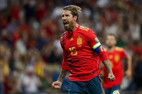 Trung vệ Sergio Ramos đi vào lịch sử bóng đá TBN hình ảnh