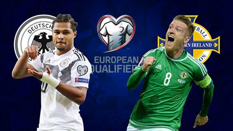 Bắc Ireland vs Đức 1h45 ngày 109 Vòng loại EURO 2020 hình ảnh