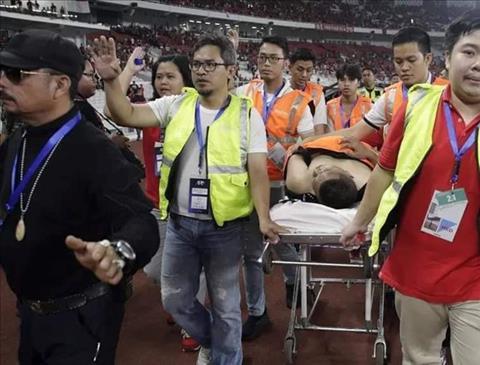 Thực hư chuyện CĐV Malaysia qua đời sau vụ ẩu đả tại sân Bung Karno hình ảnh