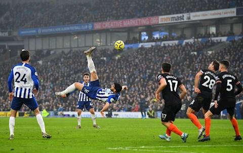 Brighton 1-1 Chelsea Frank Lampard thừa nhận may mắn thoát thua hình ảnh