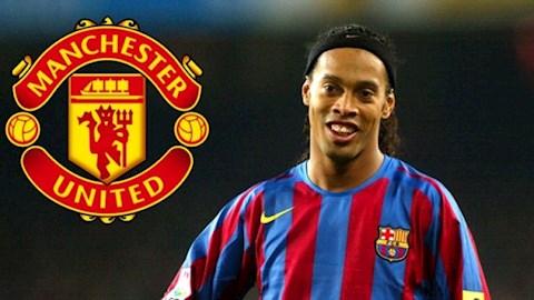 MU từng suýt chiêu mộ thành công Ronaldinho hình ảnh