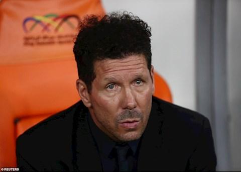 Real Madrid vs Atletico: HLV Diego Simeone