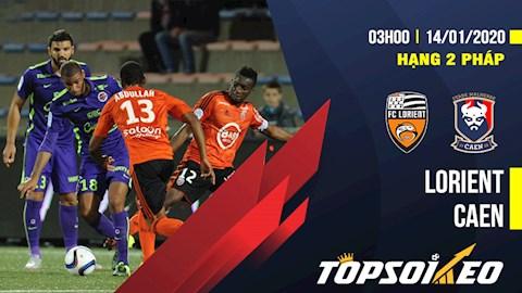 Nhận định Lorient vs Caen 2h45 ngày 14/1 (Hạng 2 Pháp 2019/20) - www.TAICHINH2A.COM
