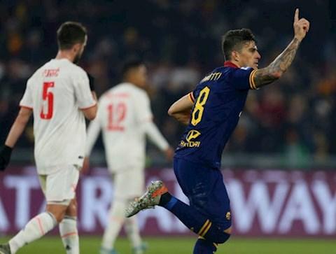 Roma 1-2 Juventus Ronaldo ghi bàn từ chấm 11m, Lão bà vô địch lượt đi Serie A 201920 hình ảnh 2