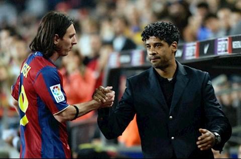 Frank Rijkaard Messi Barca