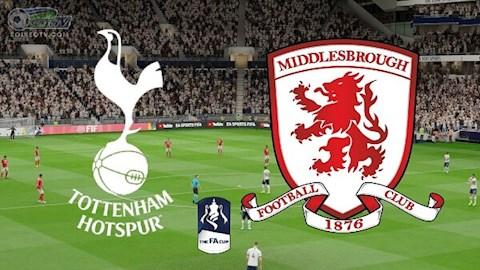 Tottenham vs Middlesbrough 3h05 ngày 151 FA Cup 201920 hình ảnh