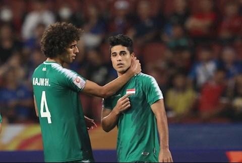 U23 Iraq go hoa ngay dau hiep 2. Anh: Nhu Dat/Bongda24h.vn