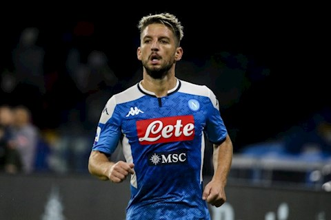 Tiền đạo Mertens muốn gia hạn hợp đồng với Napoli hình ảnh