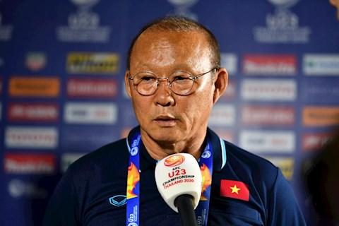 Sau thất bại tại U23 Châu Á, HLV Park Hang Seo hạ quyết tâm thắng hình ảnh