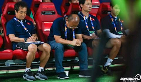 U23 Viet Nam that bai, bao chau A lo cho chu ky thanh cong cua thay Park