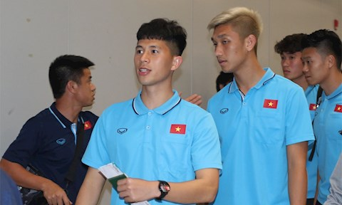 U23 Việt Nam Nhóm cầu thủ mới trở lại sau chấn thương phải tập t hình ảnh