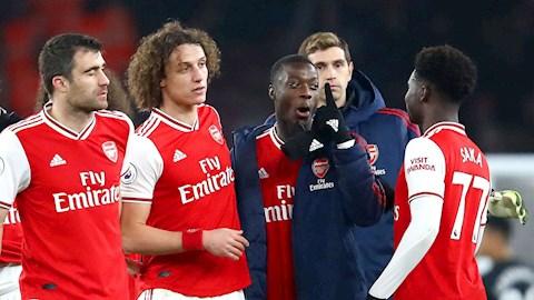 Nicolas Pepe nổ to sau khi hạ sát MU hình ảnh