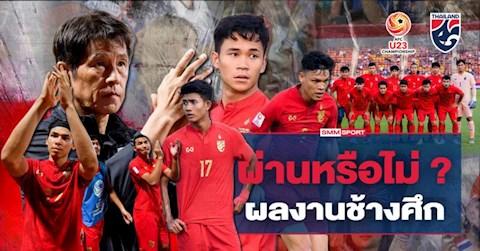Báo Thái Lan Thầy trò HLV Nishino đã làm tốt hơn U23 Việt Nam hình ảnh