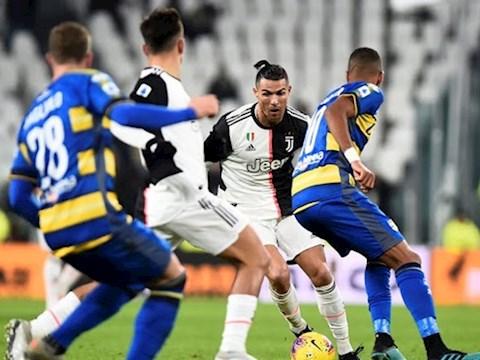 Juventus 2-1 Parma Ronaldo lập cú đúp, Lão bà củng cố ngôi đầu hình ảnh 2
