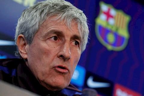 Tan HLV Quique Setien phat bieu sau man ra mat Barcelona