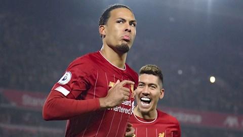 Huyền thoại MU Van Dijk chưa hay nhất Premier League hình ảnh