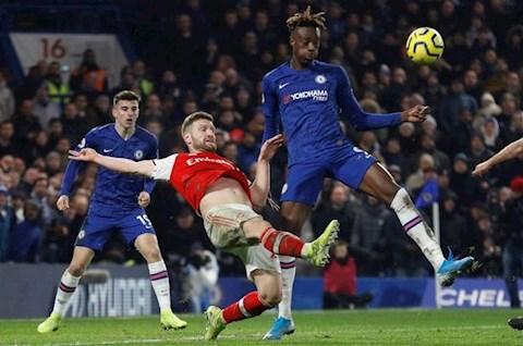 Chelsea 2-2 Arsenal Abraham vs Mustafi