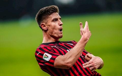 Krzysztof Piatek rời AC Milan tới Hertha Berlin hình ảnh