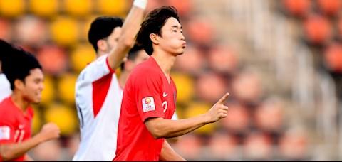 Cho Gue-sung quyết tâm chiến thắng U23 Australia mừng sinh nhật hình ảnh
