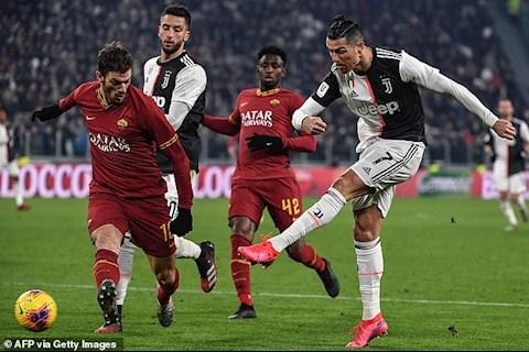 Video bóng đá Bàn thắng kết quả Juventus vs Roma 3-1 hình ảnh