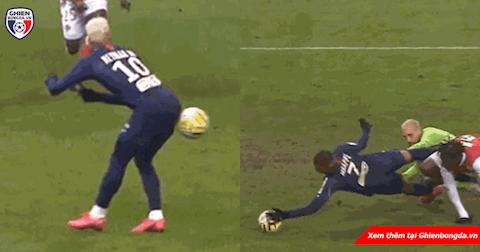 Neymar và Mbappe rủ nhau tấu hài trong trận thắng của PSG hình ảnh