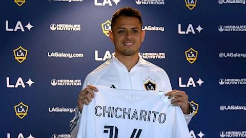 Chicharito bật khóc vì phải rời châu Âu để đến LA Galaxy hình ảnh
