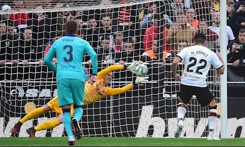 Valencia 2-0 Barcelona Stegen cuu pen