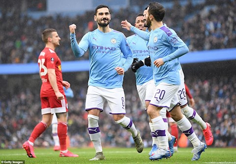 Man City 4-0 Fulham