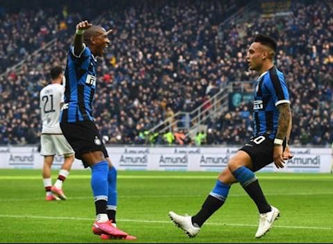 Video bàn thắng kết quả Inter Milan vs Cagliari 1-1 Serie A hình ảnh