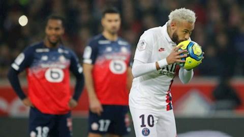 Video bóng đá Bàn thắng kết quả Lille vs PSG 0-2 hình ảnh