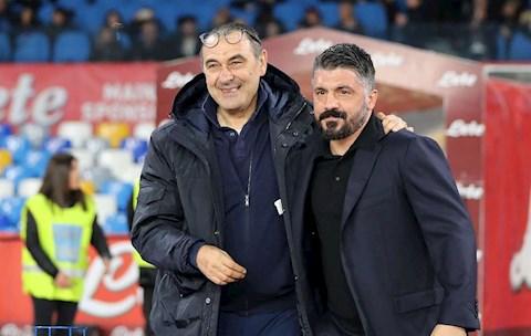 Lý do Maurizio Sarri vui dù Juventus bại trận trước Napoli hình ảnh