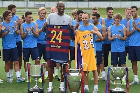 Huyền thoại bóng rổ Kobe Bryant và tình yêu đặc biệt với bóng đá hình ảnh 3
