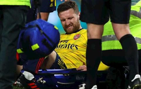 Arsenal xác nhận chấn thương của Shkodran Mustafi hình ảnh