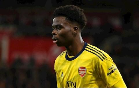 Rio Ferdinand khen ngợi sao trẻ Bukayo Saka của Arsenal hình ảnh