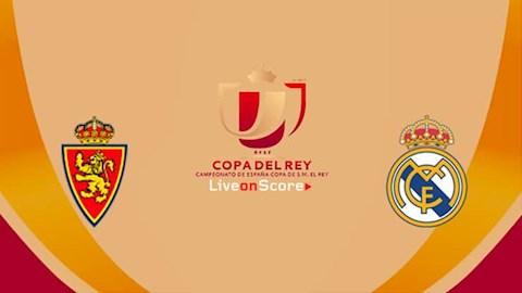 Zaragoza vs Real Madrid 3h00 ngày 301 Cúp Nhà vua TBN 201920 hình ảnh
