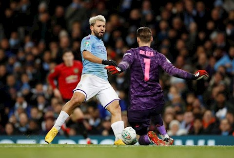 Man City vs MU David de Gea vs Aguero