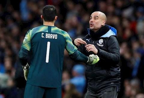 Man City vs MU Guardiola va Bravo