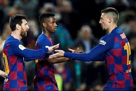 Lionel Messi lap cu dup o tran nay