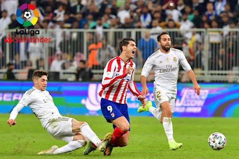 Lịch thi đấu bóng đá hôm nay 122020 - LTD Real vs Atletico hình ảnh